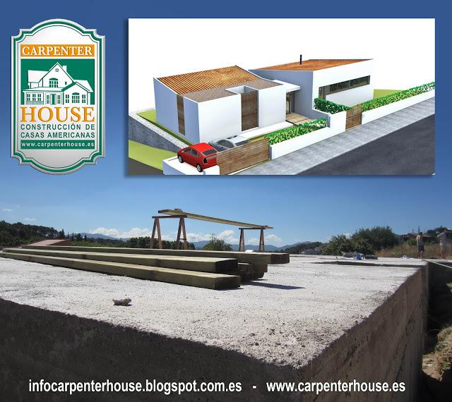 Nueva construcci n casa en lli de vall bcn - Casas en llica de vall ...