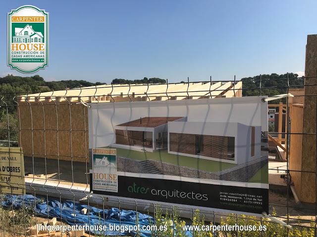 2 fase construcci n de casa energ ticamente eficiente en - Casas en llica de vall ...