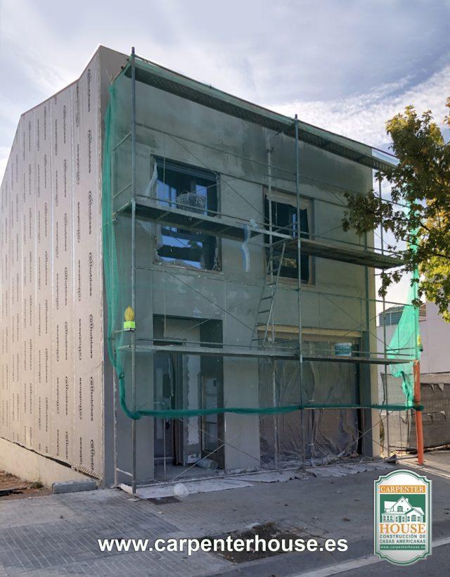 5ª FASE CONSTRUCCIÓN CASA EN CASTELLAR DEL VALLÈS BCN.