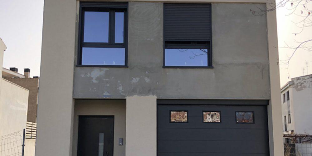 6ª FASE CONSTRUCCIÓN CASA EN CASTELLAR DEL VALLÈS BCN.