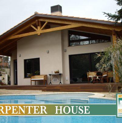 CARPENTER HOUSE, AMPLIACIÓN VIVIENDA EN VALLDOREIX (BARCELONA)