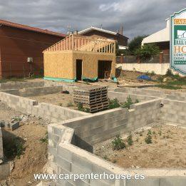 2ª FASE CONSTRUCCIÓN CASA EN TIANA (BARCELONA)