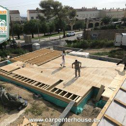 3ª FASE CONSTRUCCIÓN CASA EN TIANA (BARCELONA)