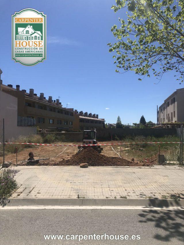 1ª Fase Construcción casa en Castellar del Vallès BCN.