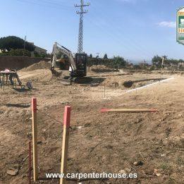1ª FASE CONSTRUCCIÓN CASA EN TIANA (BARCELONA)