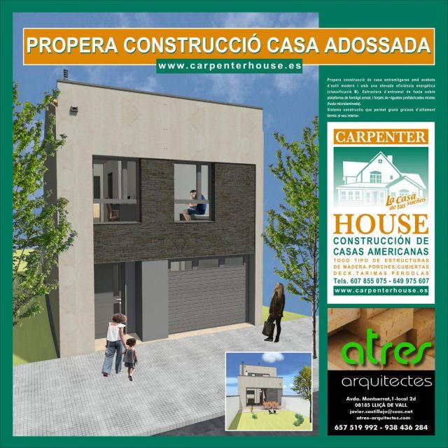 Nueva construcción en Castellar del Vallès, Barcelona.